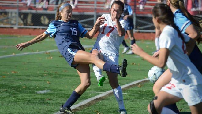 Brianna Slider (15) had an assist to help Wayne Valley top West Milford.