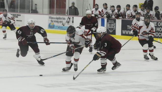 Junior Drew Lorenz and the Lakeland Regional High School ice hockey team turn their attention to the NJSIAA Tournament which gets underway next week.