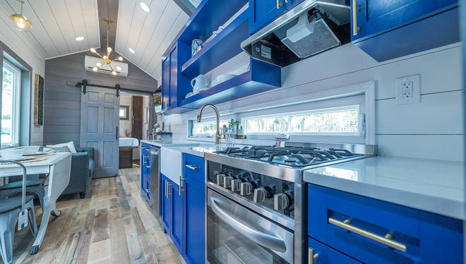 """Movable Roots, a custom """"tiny home builder"""" in Melbourne is showcasing their most recent model, the """"Lee"""" from 1-8 p.m. Saturday at Intracoastal Brewing Co., 652 W Eau Gallie Blvd, Melbourne."""