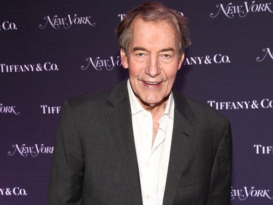 Charlie Rose in New York City, Oct. 24, 2017.