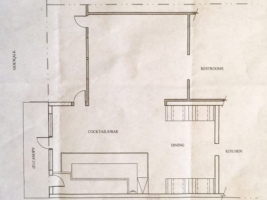 Diagram of the proposed addition