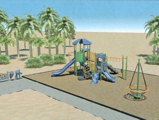 Harry Gowens Park playground