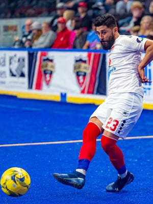"""Midfielder Ignacio """"Nacho"""" Flores has signed a two-year contract to return to the Kansas City Comets."""