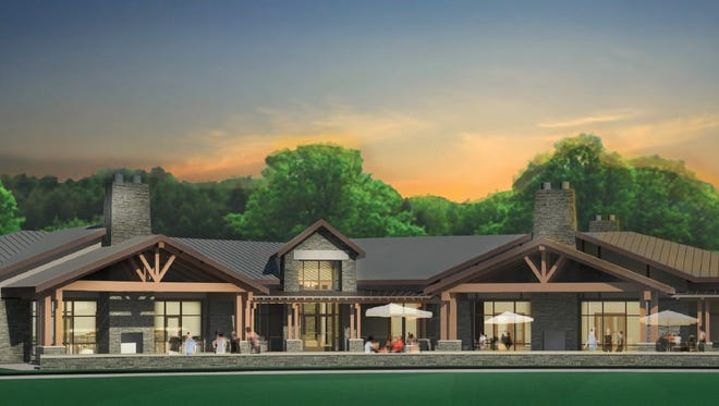 This is a rendering of the $5 million Devou Park clubhouse that will replace the 80-year-old one.