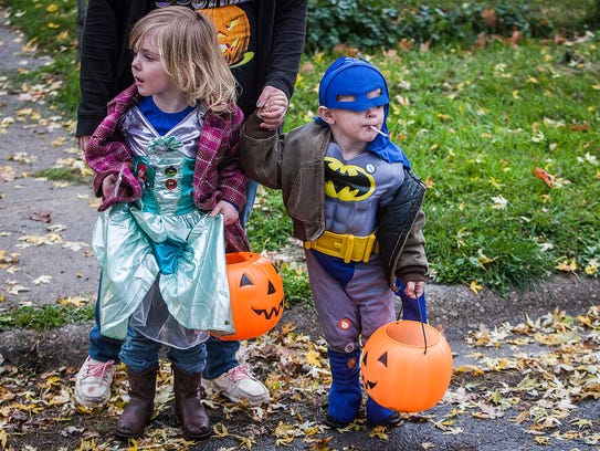 Trick-or-treaters will have two hours to collect candy