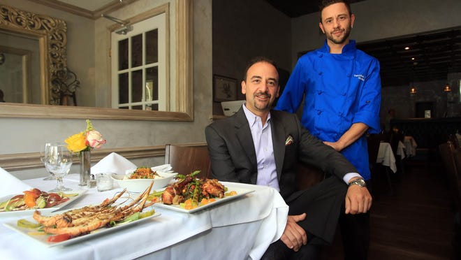 Brothers Dario DiSaverio and Marino DiSaverio, co-owners of Giostra restaurant in Tappan.