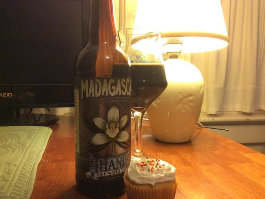 4 Hands Brewing's Madagascar is a nearly flawless barre-aged