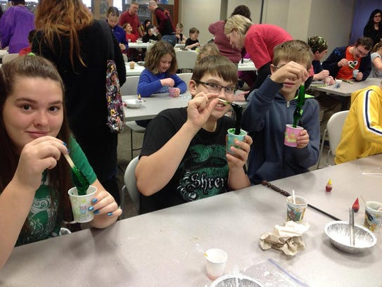 Wizarding World event at Manitowoc Public Library in