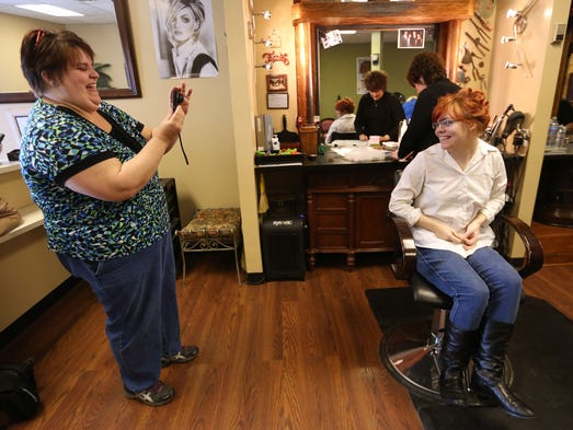 After her death jeffersontown teen 39 s second chance dance for Absolutely you salon