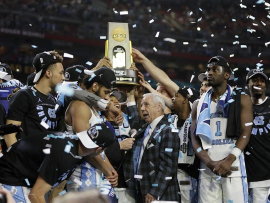 North Carolina may be among the basketball elite, but it still had to get past a gutsy Gonzaga in last year's championship game