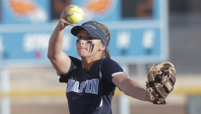 The high school softball playoffs begin Thursday through Saturday in El Paso and throughout the state.