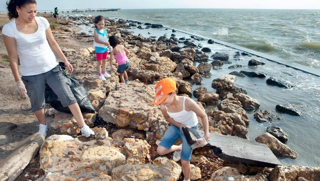 Pick your beach and do a good deed for the day. The Texas General Land Office presents the spring Adopt-A-Beach program from 9 a.m. to noon, Saturday, April 22. Pick from one of 10 sites in the Coastal Bend to help cleanup area shorelines and beaches. Information: 877-TXCOAST or texasadoptabeach.org for site locations.