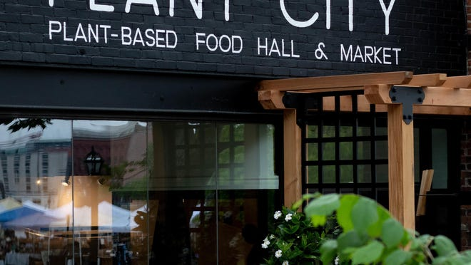 """A """"scaled-down"""" version of the Plant City vegan food hall in Providence is slated to move into the space at 619 West Main Road, Middletown."""