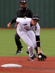 Rider's Parker Kelly was elected to his second Red River Diamond Dozen team.