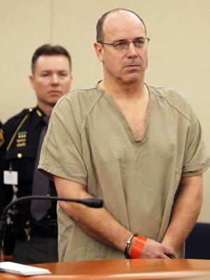 Art Schlichter during an arraignment hearing in Franklin County Municipal Court, Tuesday, Feb. 15, 2011.