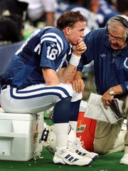 Said former Colts offensive coordinator Tom Moore: