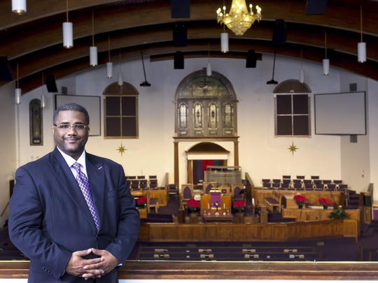The Rev. Julius H. McAllister Jr. is the 35th pastor at Bethel AME Church.