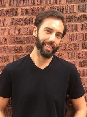 Writer Michael St. John.