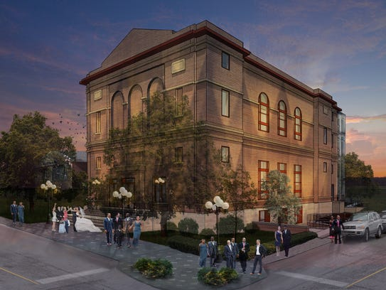 Artist rendering of proposed Incline Arts and Event