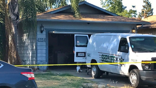 Tulare County Coroner was on the scene of a Visalia Police Department investigation in the 4200 block of West Cambridge Avenue.