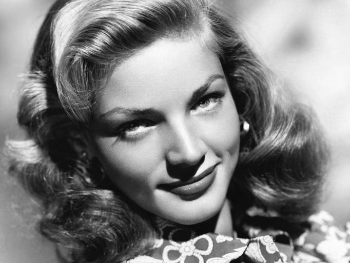 Actress Lauren Bacall died Aug. 12, 2014 at the age of 89.