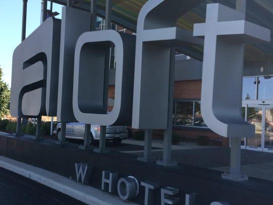 Aloft hotel in Ashwaubenon.