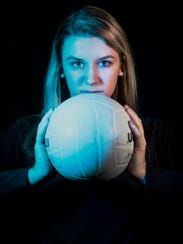 2016 Fall Player of the Year finalist Gabrielle Curran,