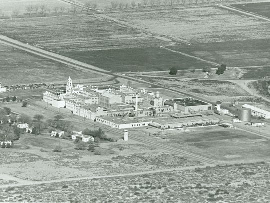This aerial photo of La Tuna Federal Prison is from