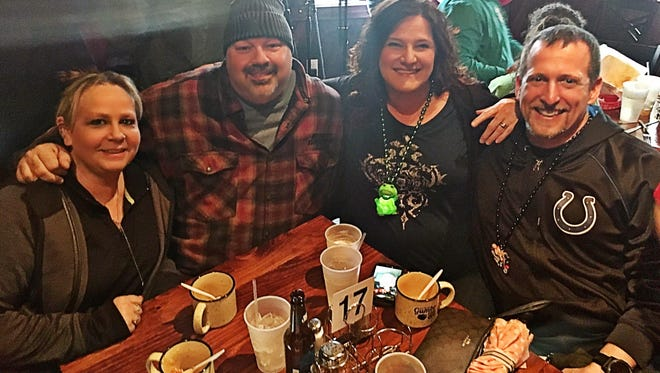Gumbo cookoff We caught Lisa and Ron Skelly, and Stacy and Bryan Wheeler sampling the gumbo at Lamasco Bar and Grill. The FSEA Annual Gumbo Cookoff features the cajun culinary stylings of several different restaurants as a way to raise money for various local charities.
