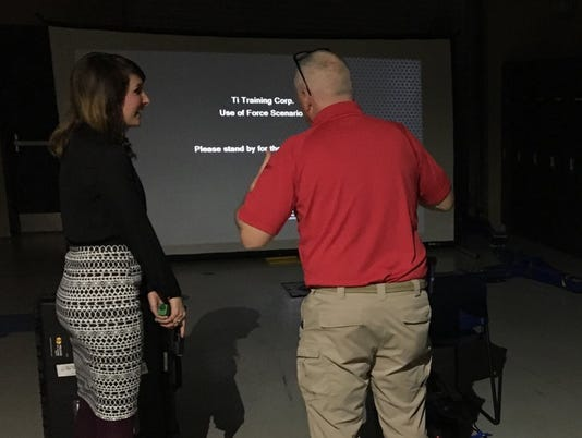TBI Citizen's Academy judgmental shooting training