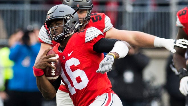 J.T. Barrett and Ohio State are the more likely Big Ten entrant into the College Football Playoff.
