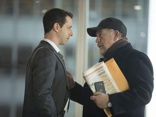 """Jeremy Strong and Brian Cox in """"Succession,"""" which returns to HBO at 9 p.m. Sunday."""