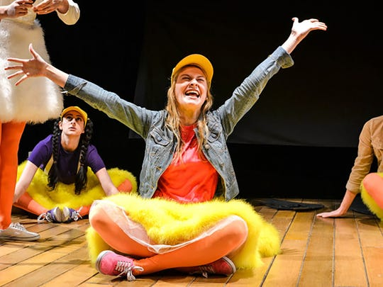 Megan Dwinell stars as Penelope in 'Can-Do Duck: The Musical,' adapted by Arielle Sosland from her dad, Morton Sosland's positive book series for children about overcoming fears and challenges.