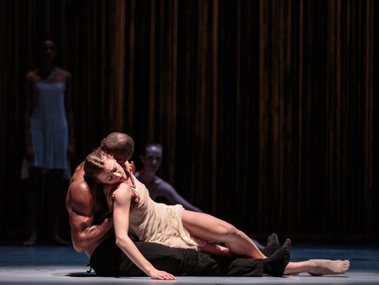 Dancers Babatunji and Laura O'Malley of Alonzo King