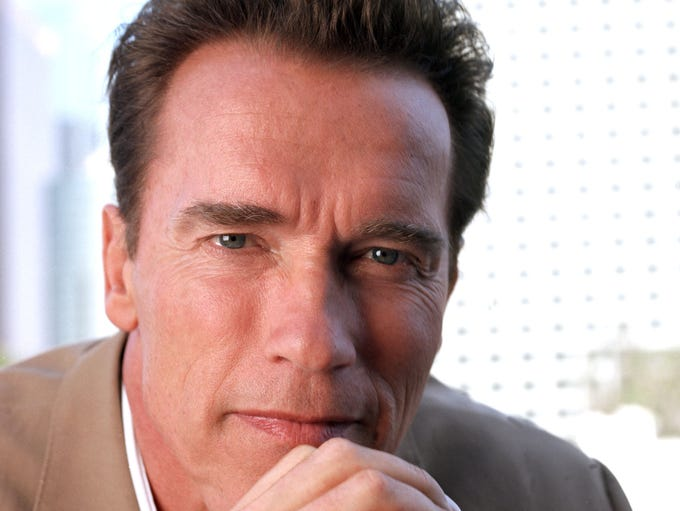 It's hard to believe that Arnold Schwarzenegger, the