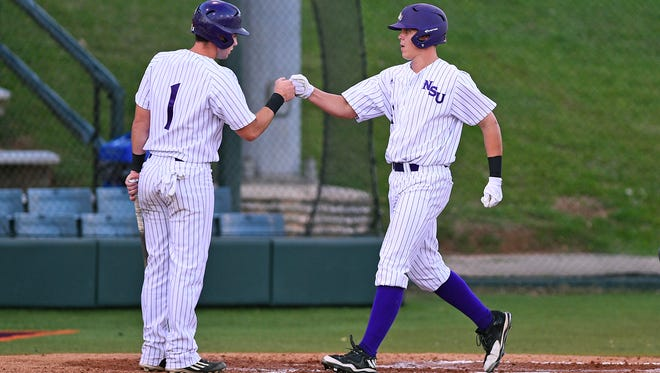 Northwestern State's Austin Townsend had two hits against Little Rock.