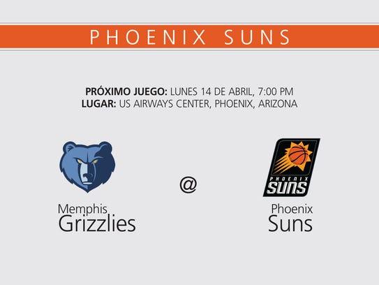 Phoenix suns Lunes