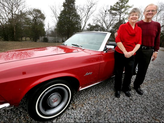 Antique cars will be on display from 1-4 p.m. Saturday