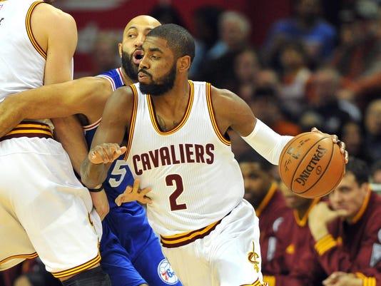 b704297c68e Kyrie Irving boosts Cavaliers despite uneven debut