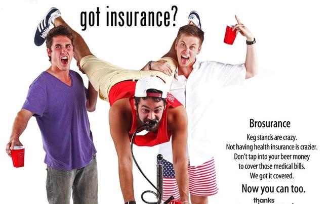Brosurance ad