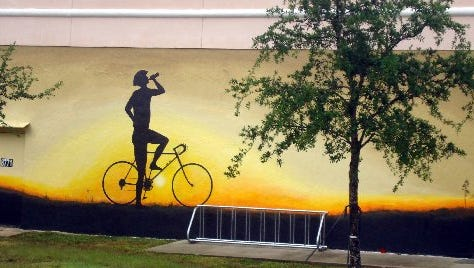 Make sure to take a tour of all the cool murals in downtown Hobe Sound during your visit.