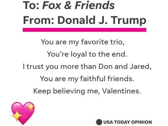 What Donald Trump Might Say In Valentines To Family Friends And Enemies