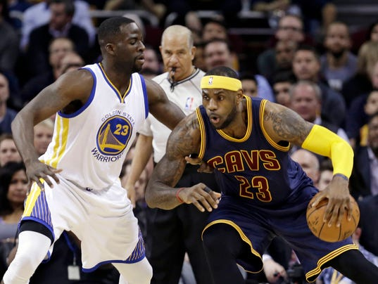 Draymond Green bets LeBron James over Michigan State-Ohio State game