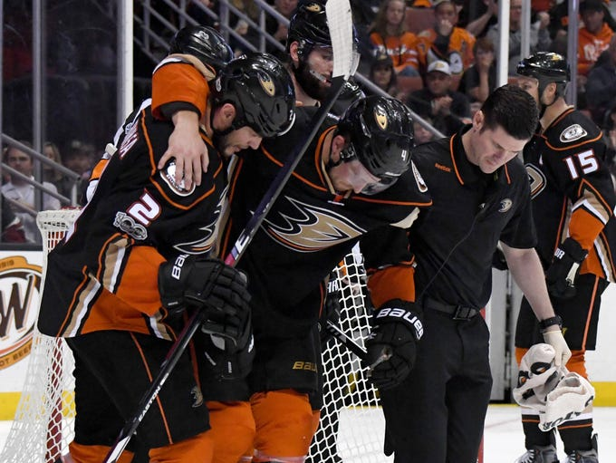 Cam Fowler, defenseman, Anaheim Ducks: Will miss the