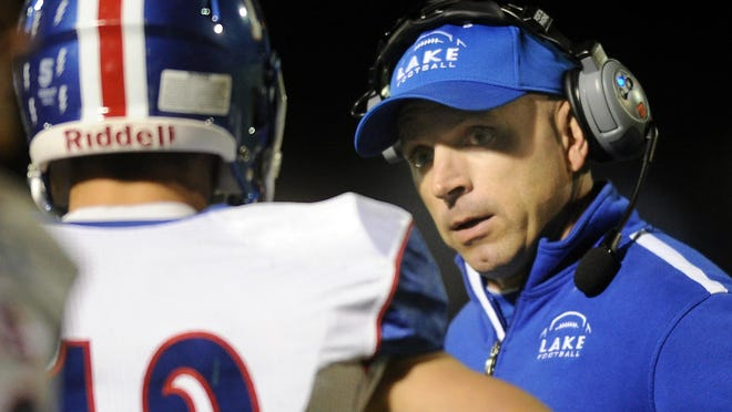 Lake coach Dan DeGeorge says there will be a lot of adjustments to get used to if the high school football season is able to go on this year.