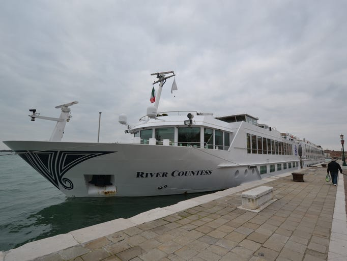 Another major river line operating in Europe is Uniworld Boutique River Cruise Collection. Here, the line's Italy-based, 134-passenger River Countess.