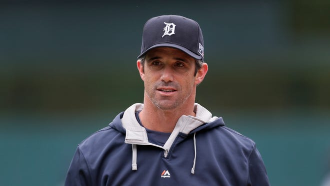 Detroit Tigers manager Brad Ausmus during the ALDS against the Baltimore Orioles on Oct. 4, 2014.