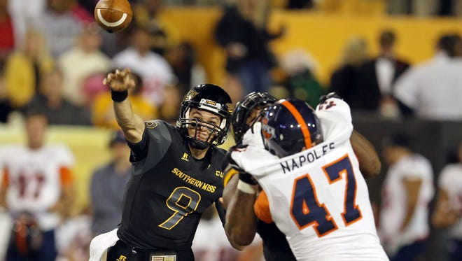 Southern Miss quarterback Nick Mullens made a big transformation this year that led to him breaking the school record for passing yards and touchdowns in a season.