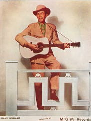 Hank Williams MGM Records promotional image