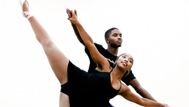 """Asya Miles and LeAnthony Douglas have been selected for the lead roles in New Ballet Ensemble's """"Nut Remix"""" production. Both, Miles and Douglas started their dance careers at a young age while attending New Ballet Ensemble's after-school program at Dunbar Elementary in Orange Mound."""